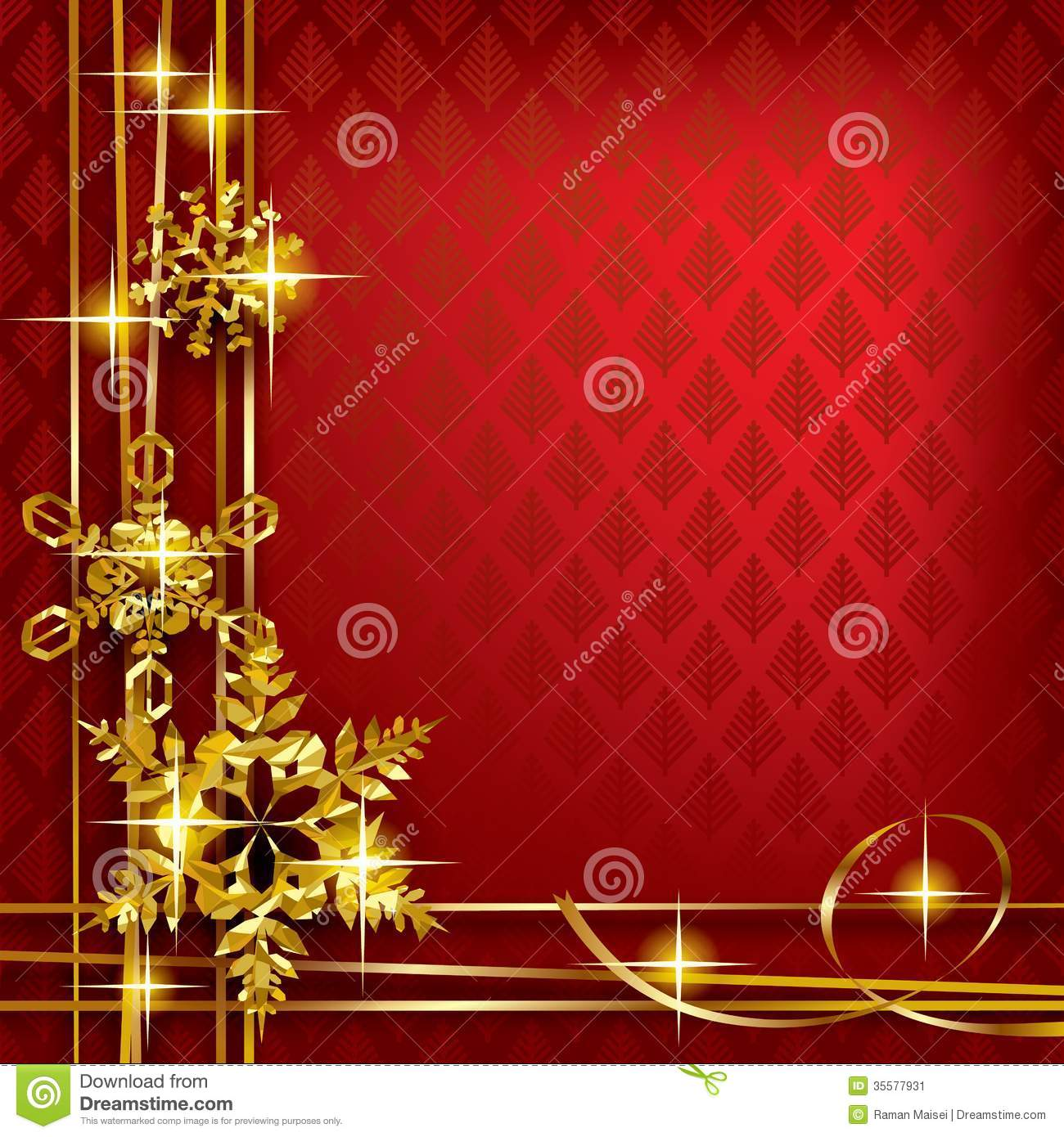 Christmas And New Years Greeting Card Stock Vector Illustration Of