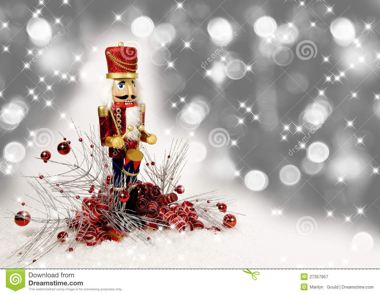 Christmas Drummer.Christmas Nutcracker Drummer Stock Image Image Of Winter