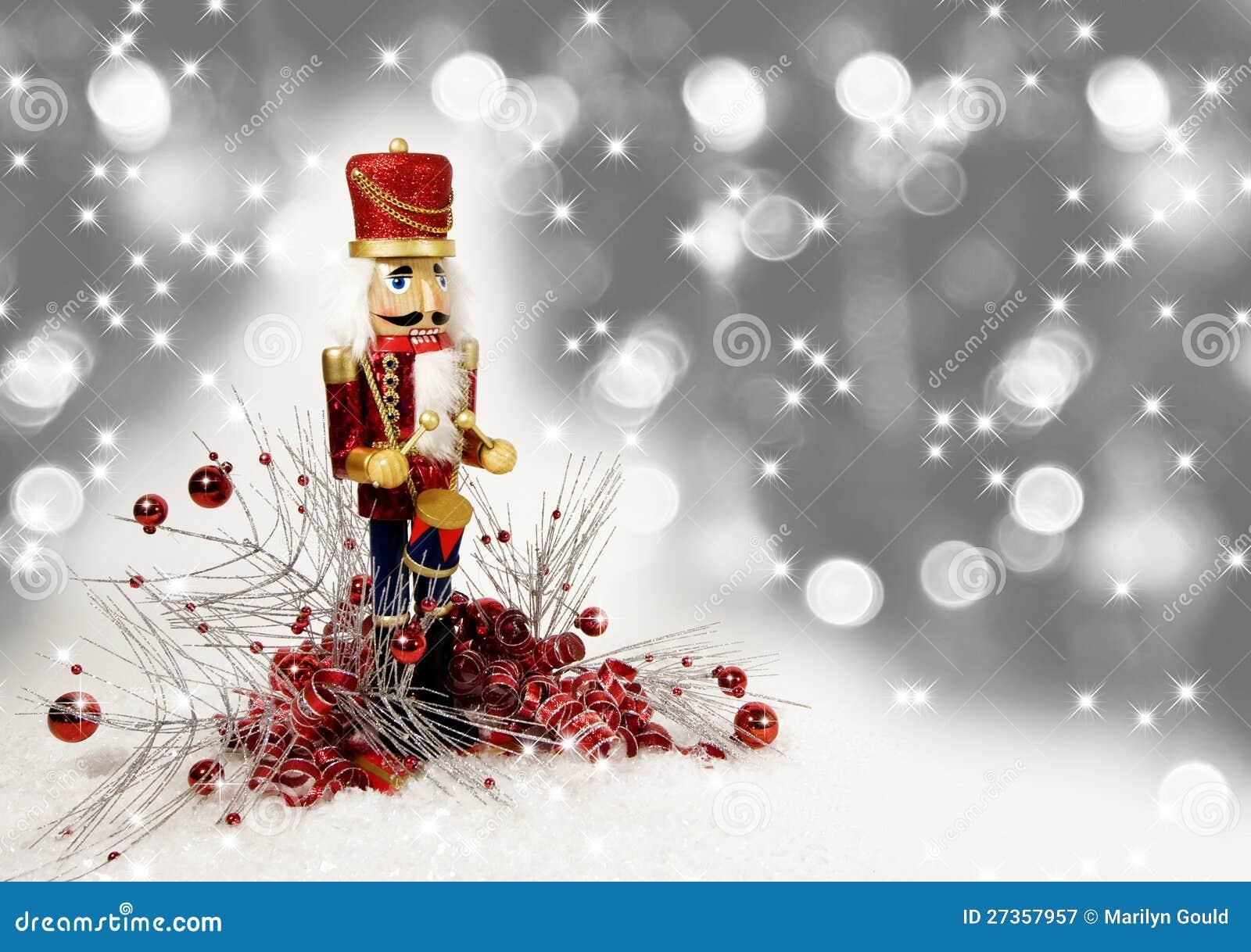 Christmas Nutcracker Drummer Royalty Free Stock Photography - Image ...