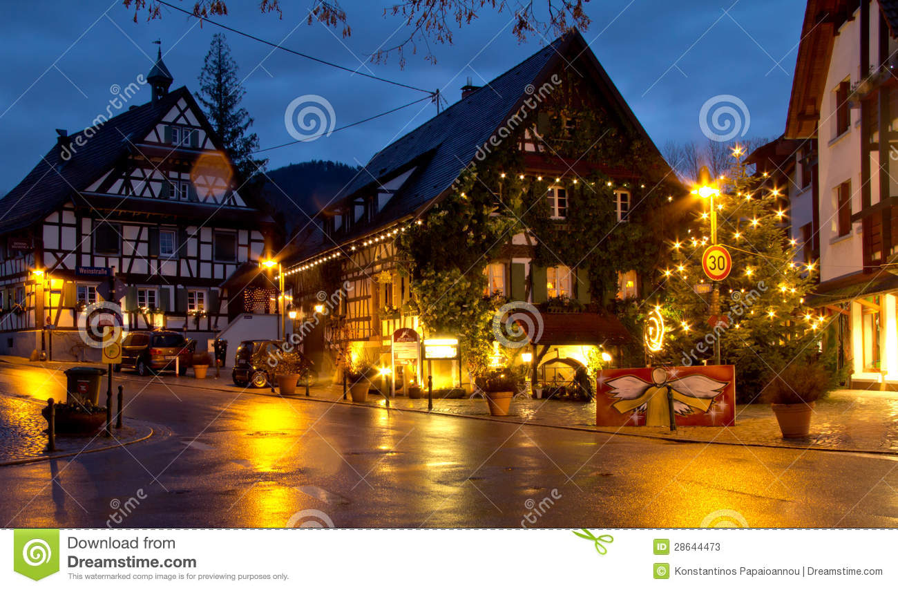 christmas in offenburg germany editorial stock photo. Black Bedroom Furniture Sets. Home Design Ideas