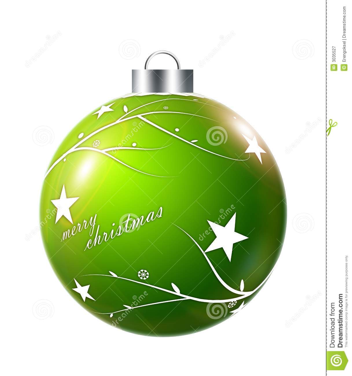 Christmas Ornament Stock Illustration Of Holiday