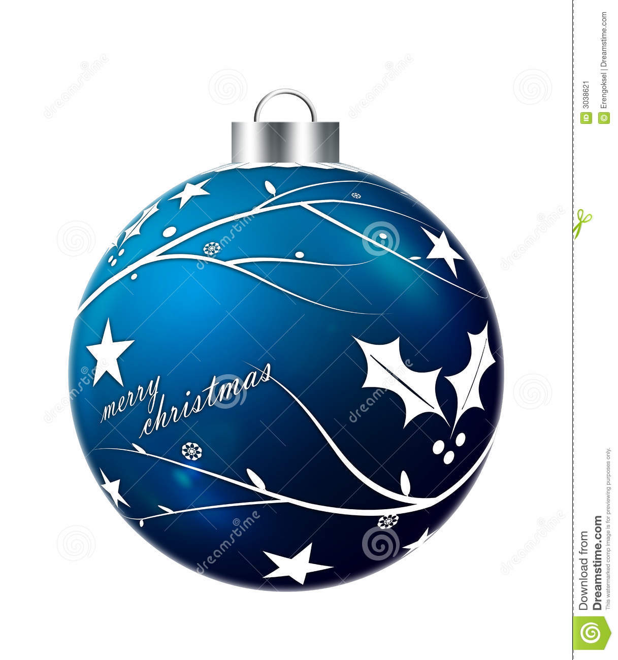 World globe christmas ornaments - Ball Blue Christmas Ornament