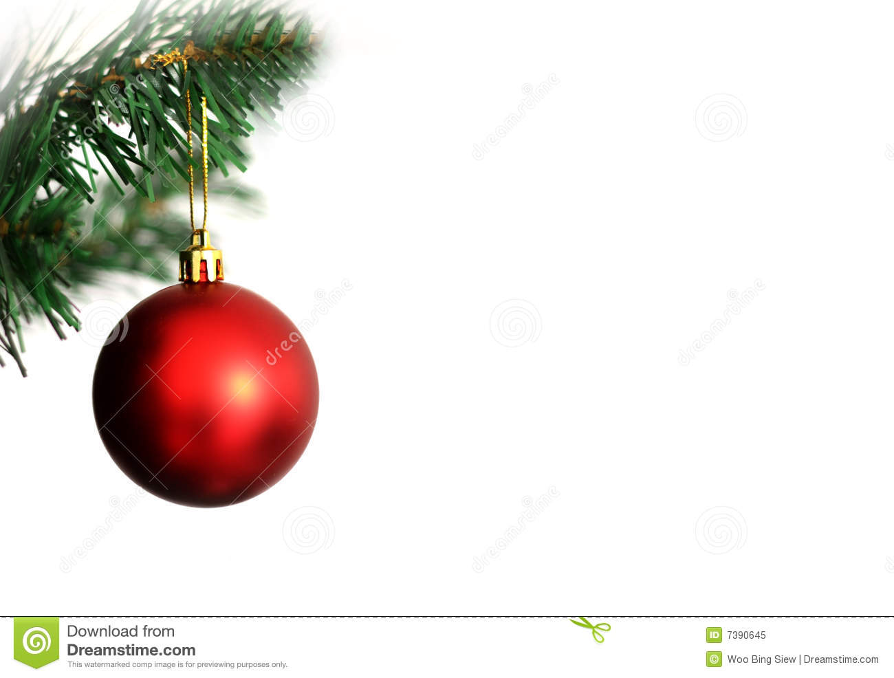 Christmas ornament stock image. Image of decorate, holiday - 7390645