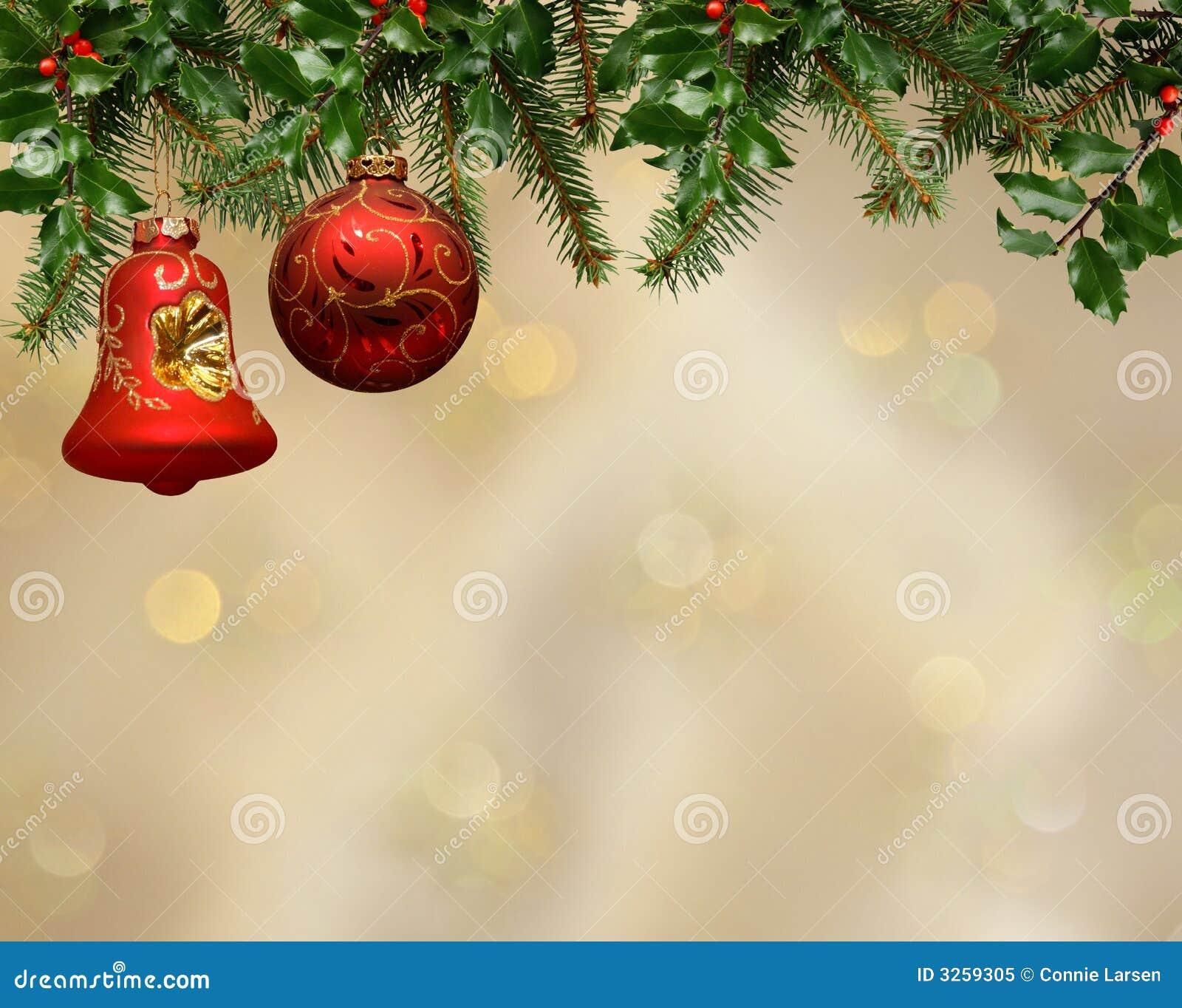 Gold Christmas Bulbs