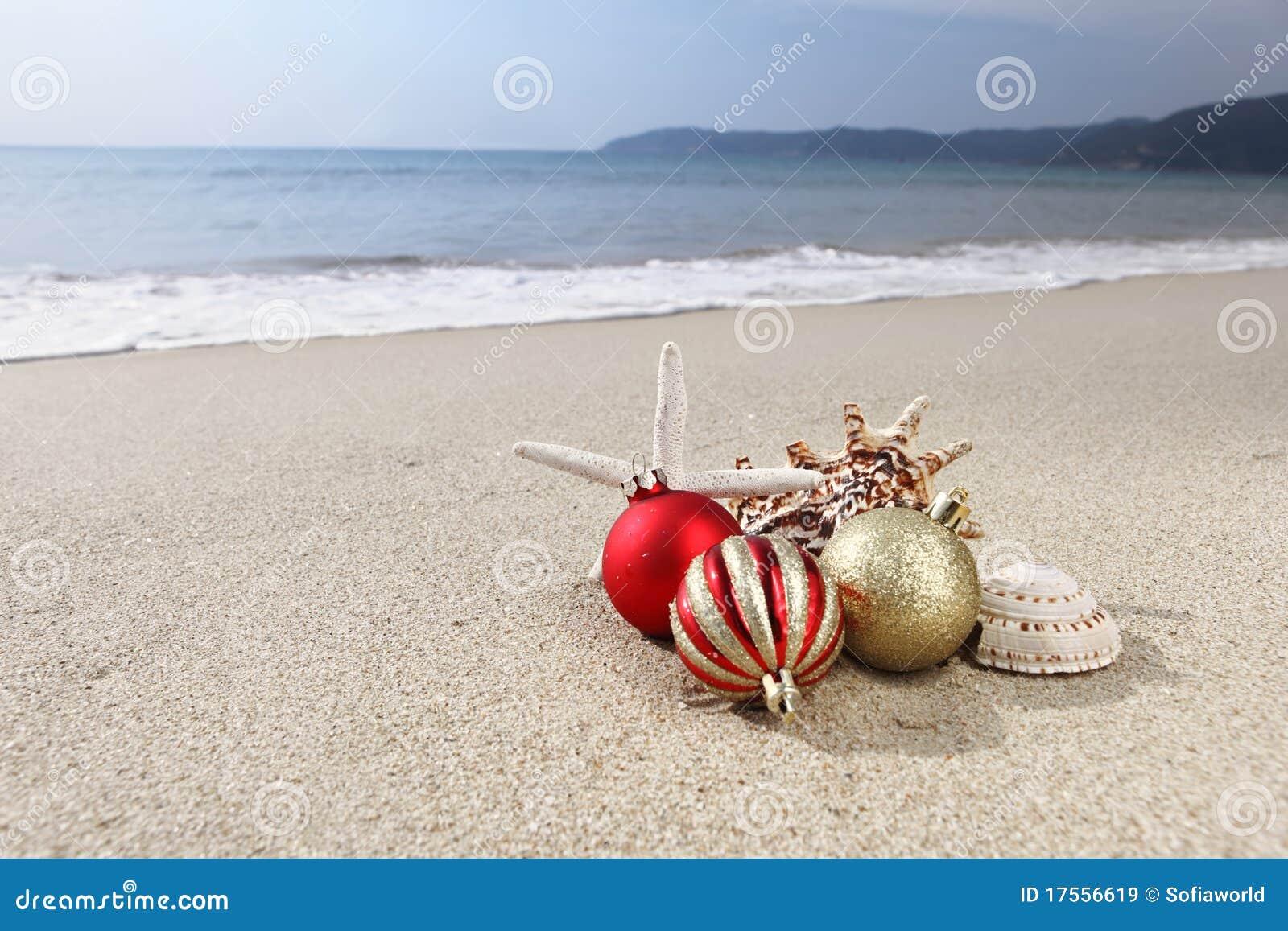 Beach Ball Christmas Ornament