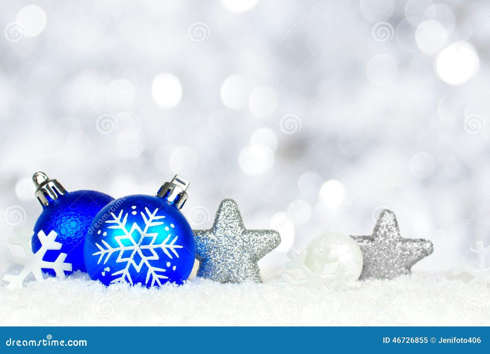 Background Blue Border Christmas Light Lights Ornament