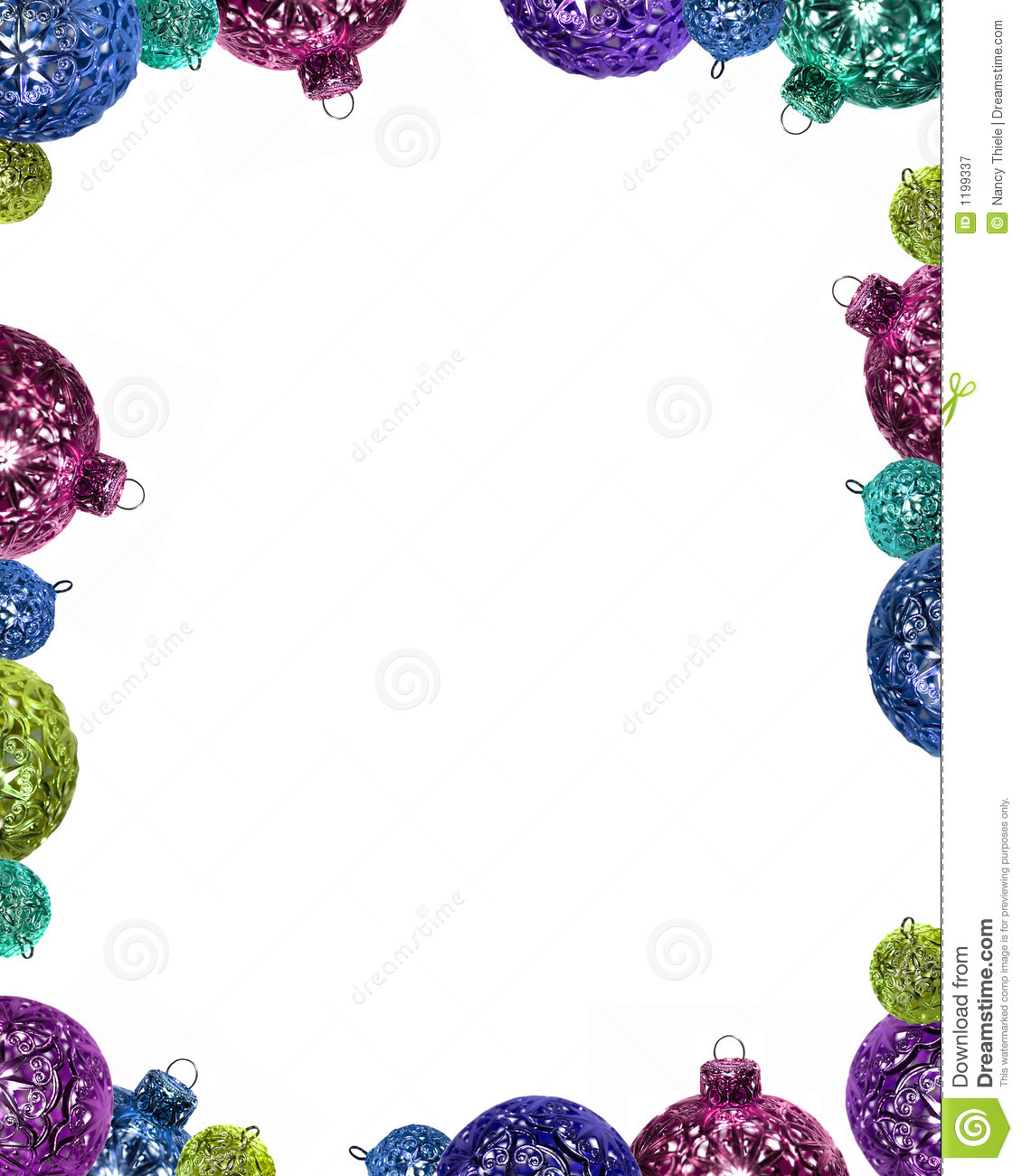 Christmas ornament frame stock image. Image of holiday - 1199337