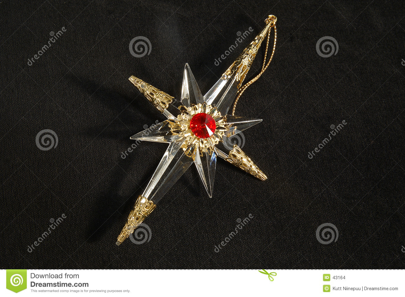 Christmas Ornament - North Star, In Full Stock Photo - Image of xmas ...