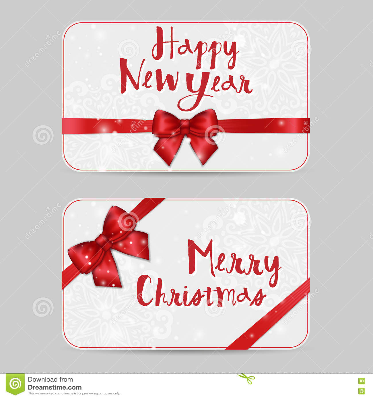 vector new year template for greetings invitations cards vouchers gift cards