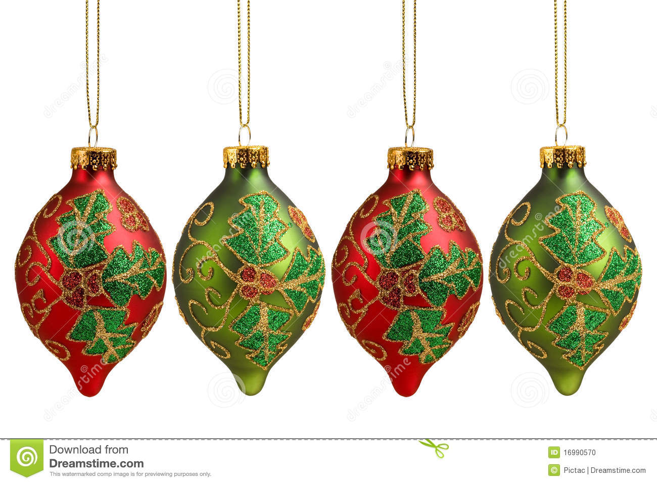 Holly christmas ornaments - Background Christmas Decoration Holiday Holly
