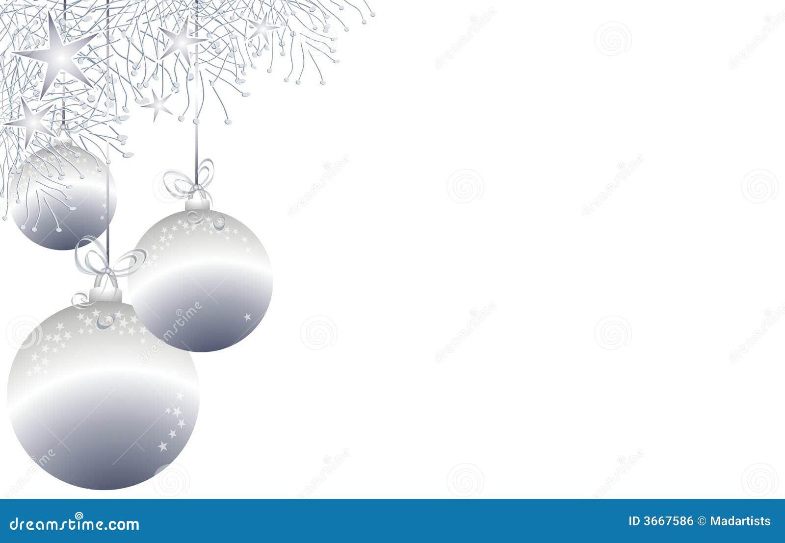 christmas ornaments border 3 stock illustration image. Black Bedroom Furniture Sets. Home Design Ideas