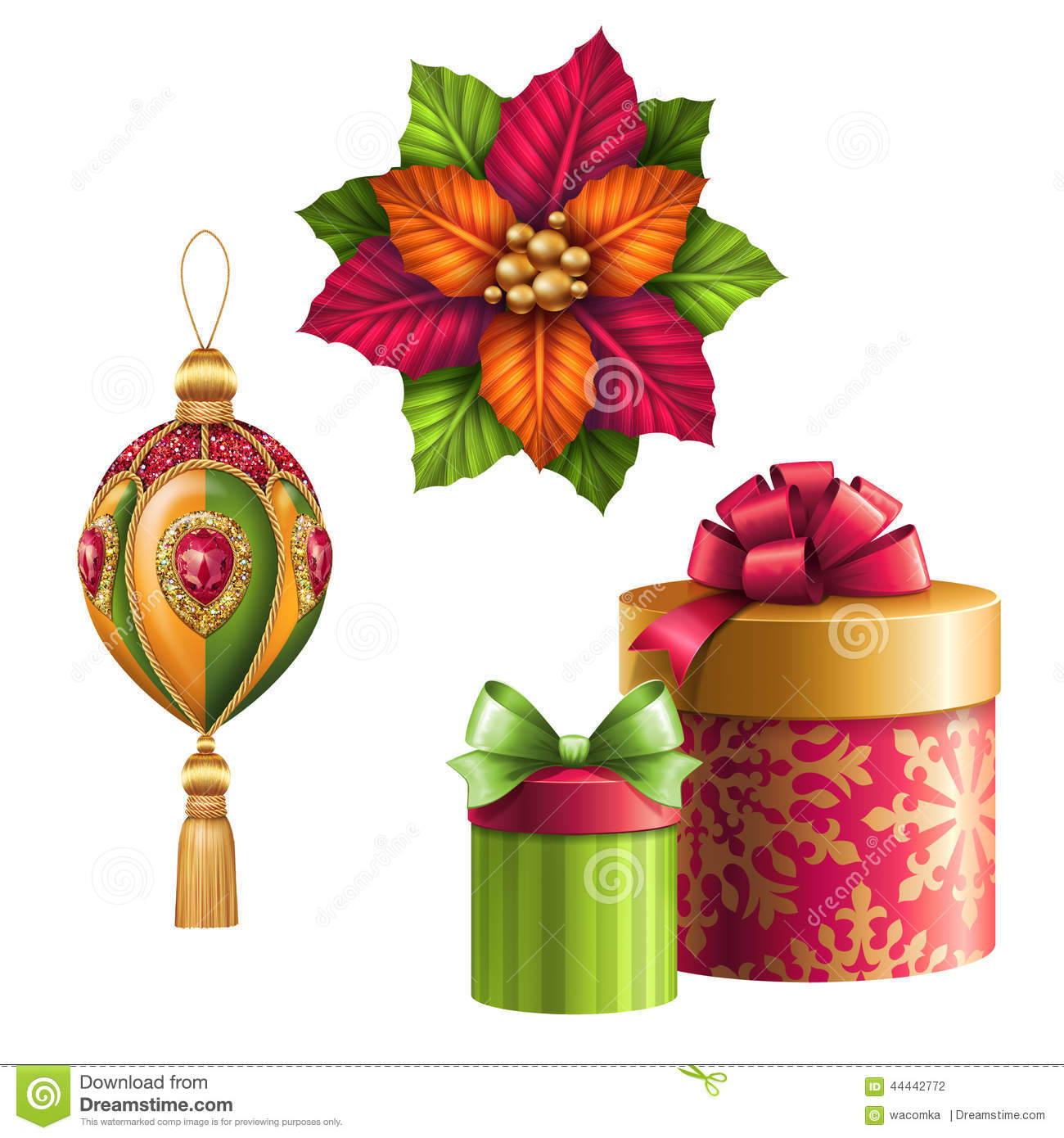 Christmas Holiday Clip Art Royalty Free Stock Photo - Image: 7007805