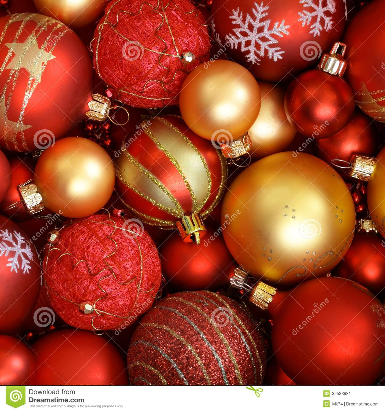 Christmas ornaments stock image. Image of ornament ...