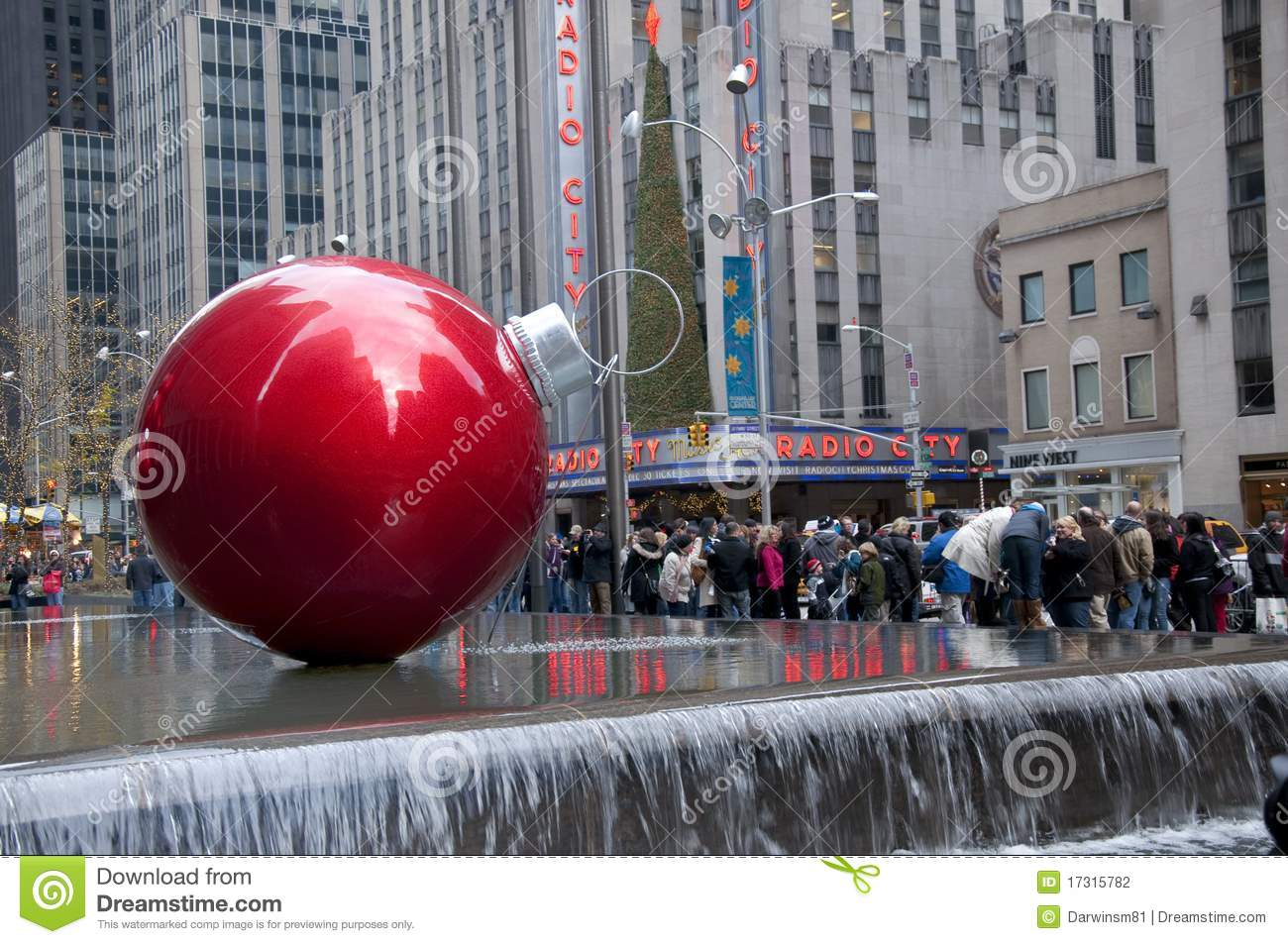 Christmas Ornaments By Radio City Music Hall Editorial Photography ...