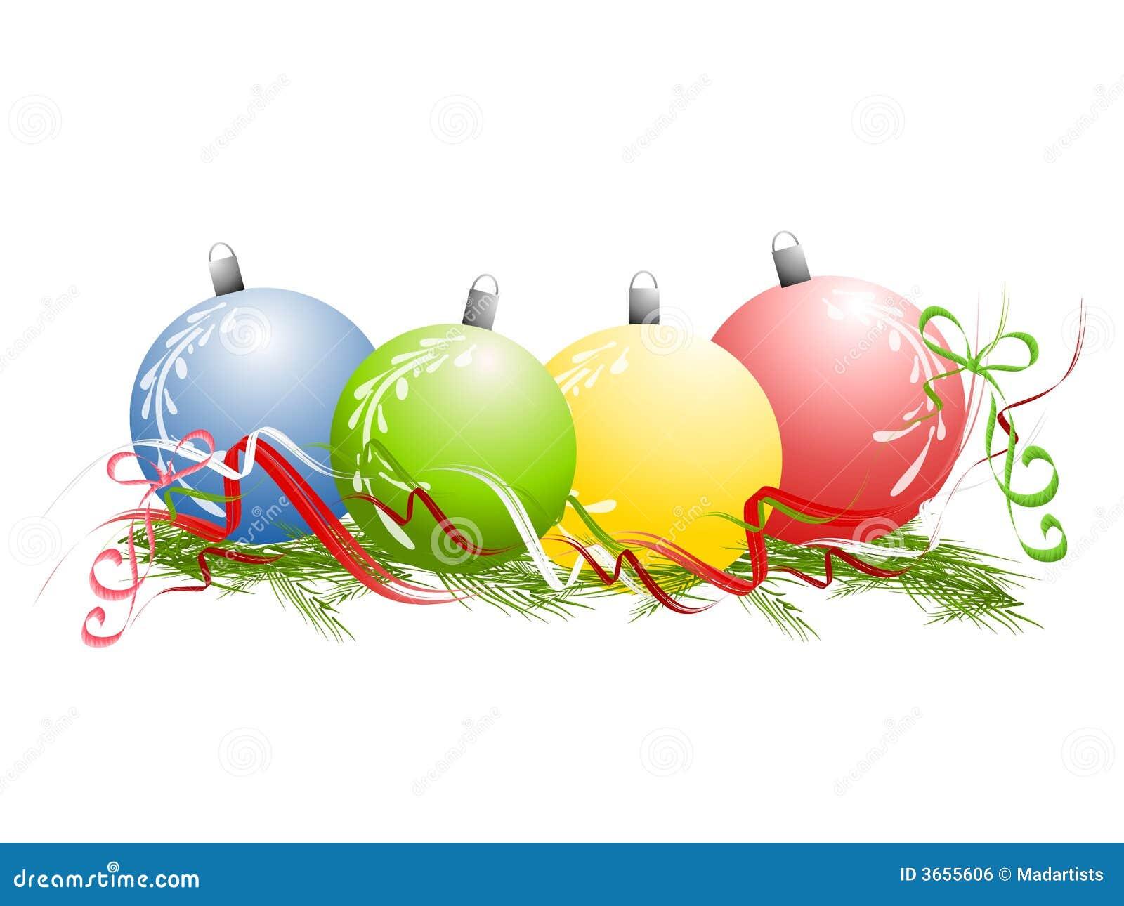 Christmas Decorations Pile