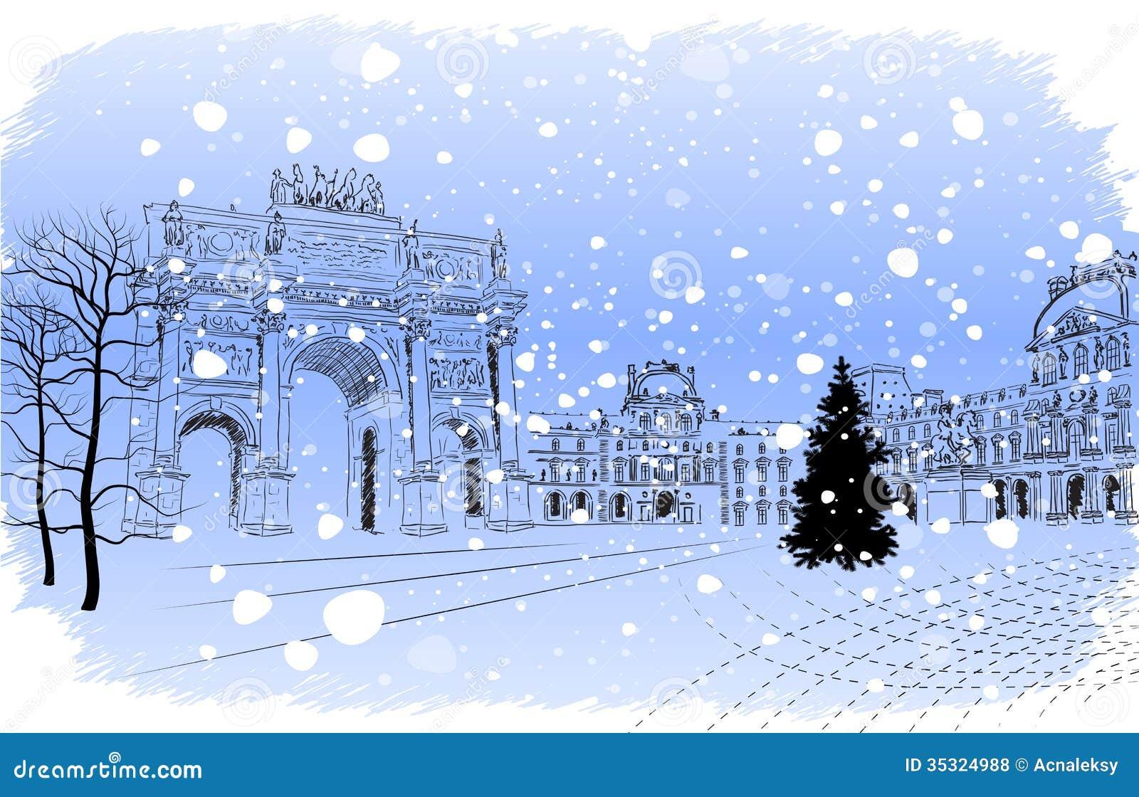 Winter Music Clipart