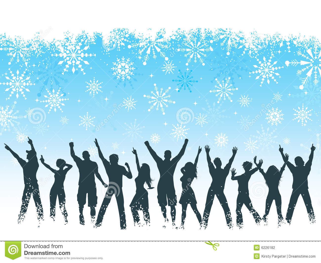 Christmas Party Background Stock Vector Image Of