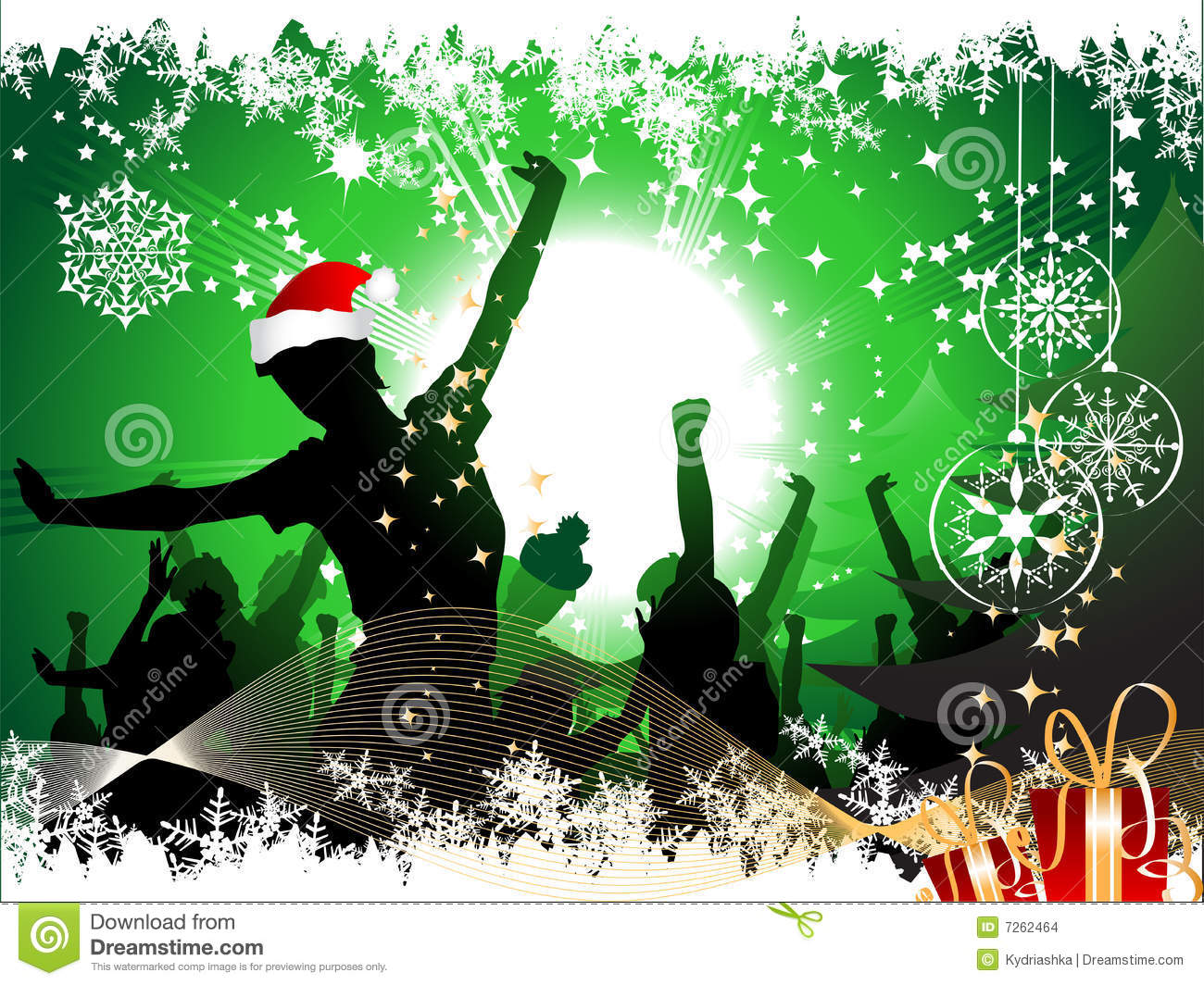 christmas party background - Youth Christmas Party Decorations