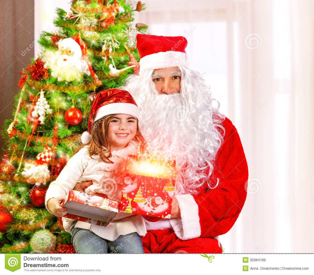 Christmas Children Party: Christmas Party For Children Royalty Free Stock Images