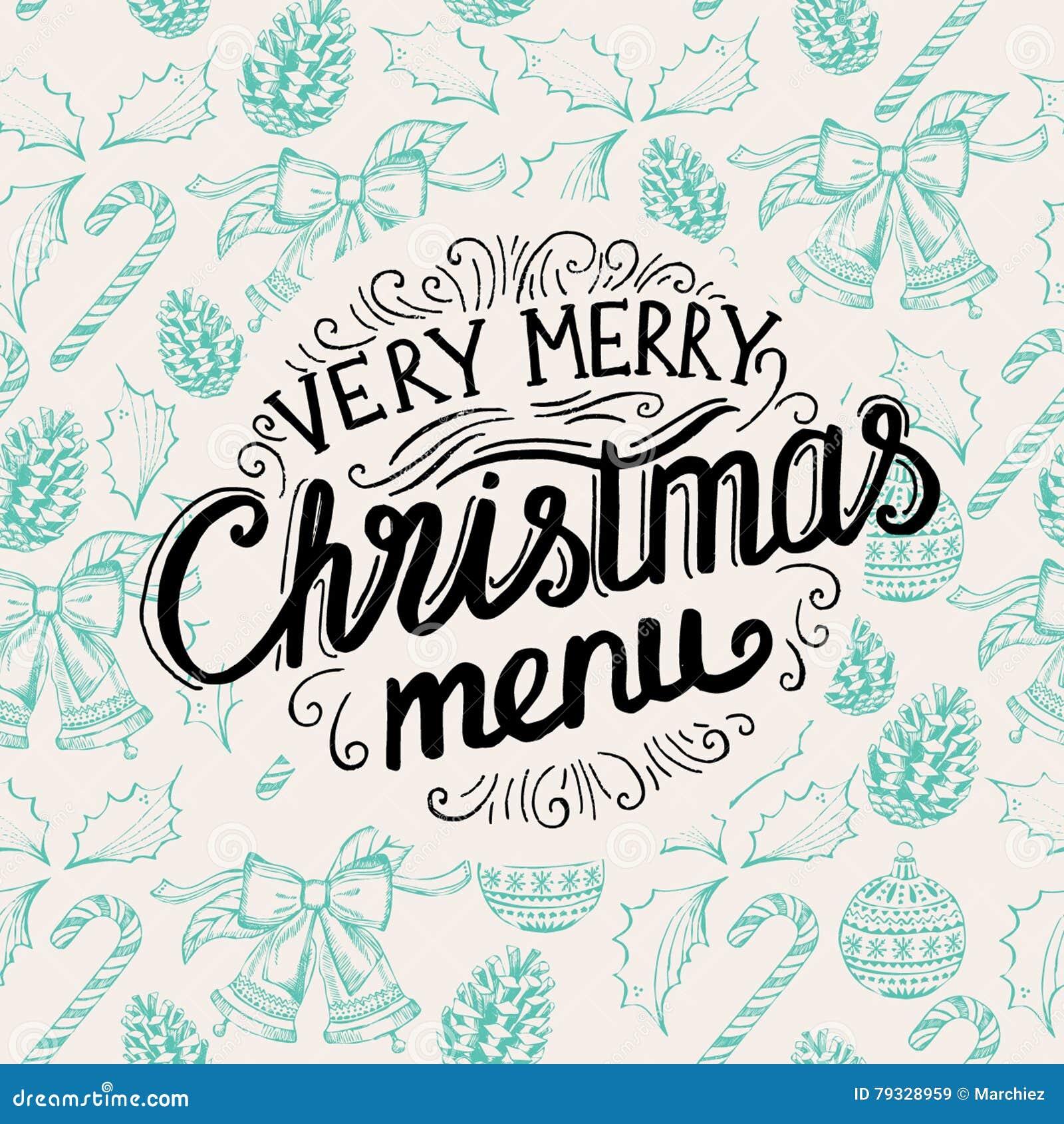 Christmas party invitation food menu restaurant stock vector christmas party invitation food menu restaurant happy layout stopboris Images