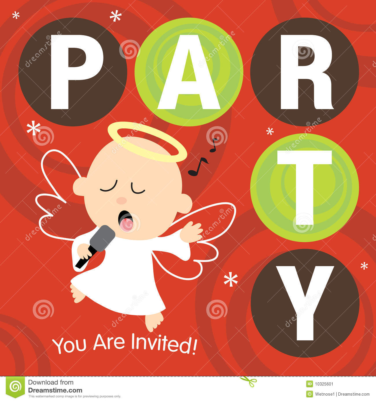 christmas party invite stock image image  christmas party invite