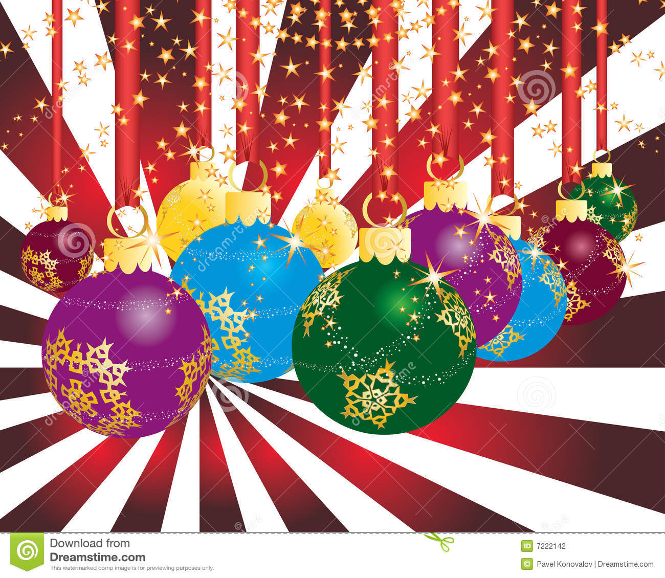 Christmas Party Theme Stock Photography - Image: 7222142