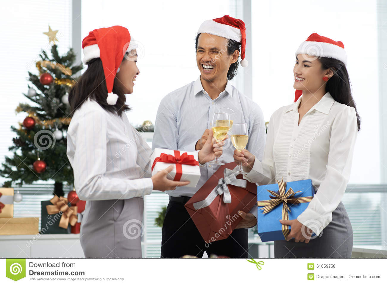 Christmas Party Stock Photo - Image: 61059758