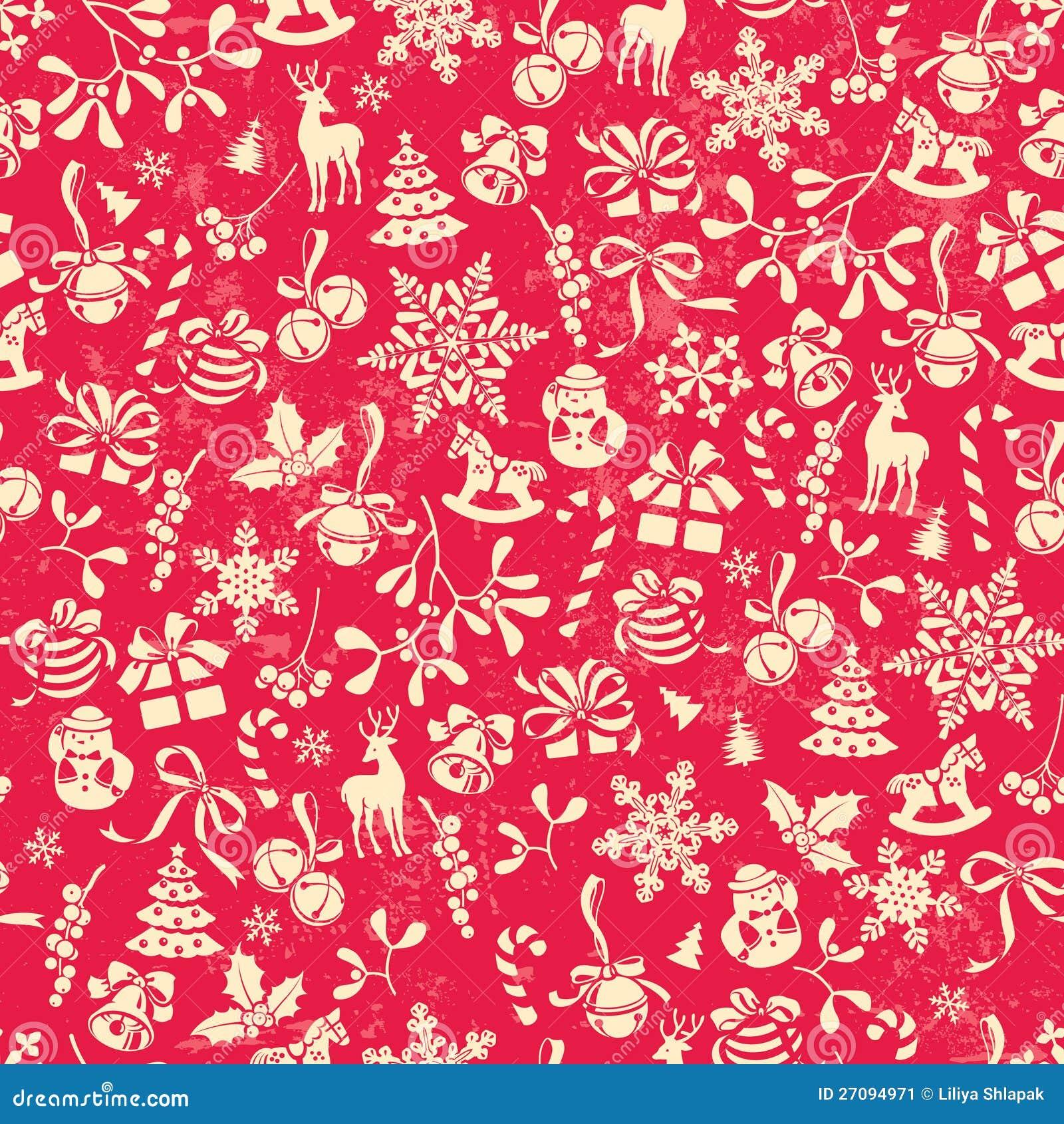 Christmas Pattern Stock Image - Image: 27094971