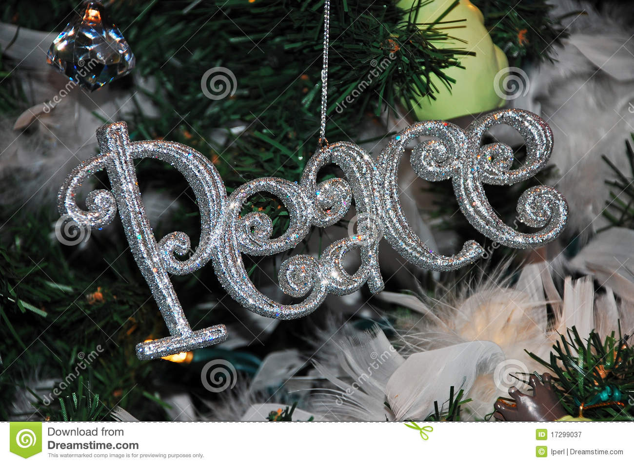 Peace Christmas Ornament.Christmas Peace Ornament Stock Image Image Of Yuletide