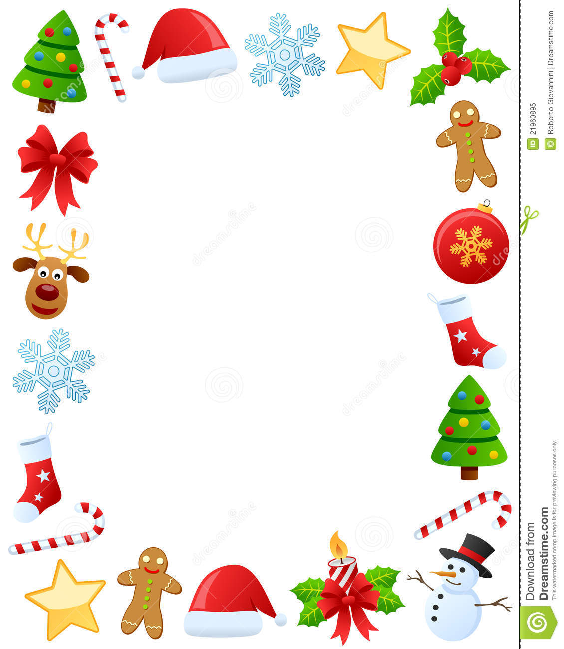 Christmas Photo Frame [1] Royalty Free Stock Photo - Image: 21960895