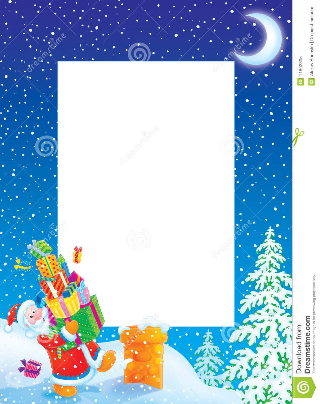 Santa Claus Borders | New Calendar Template Site