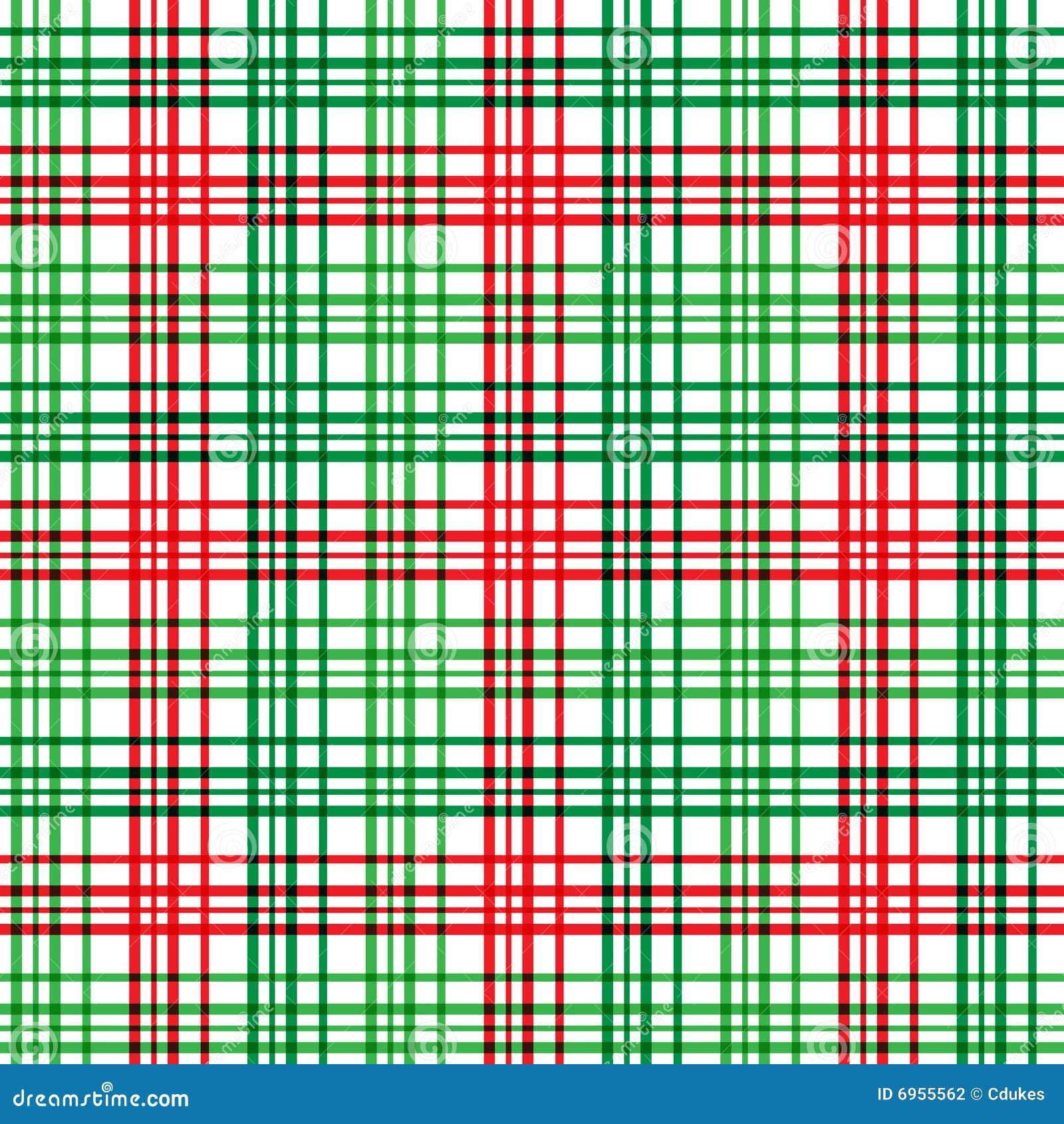 Christmas Plaid Stock Photography Image 6955562
