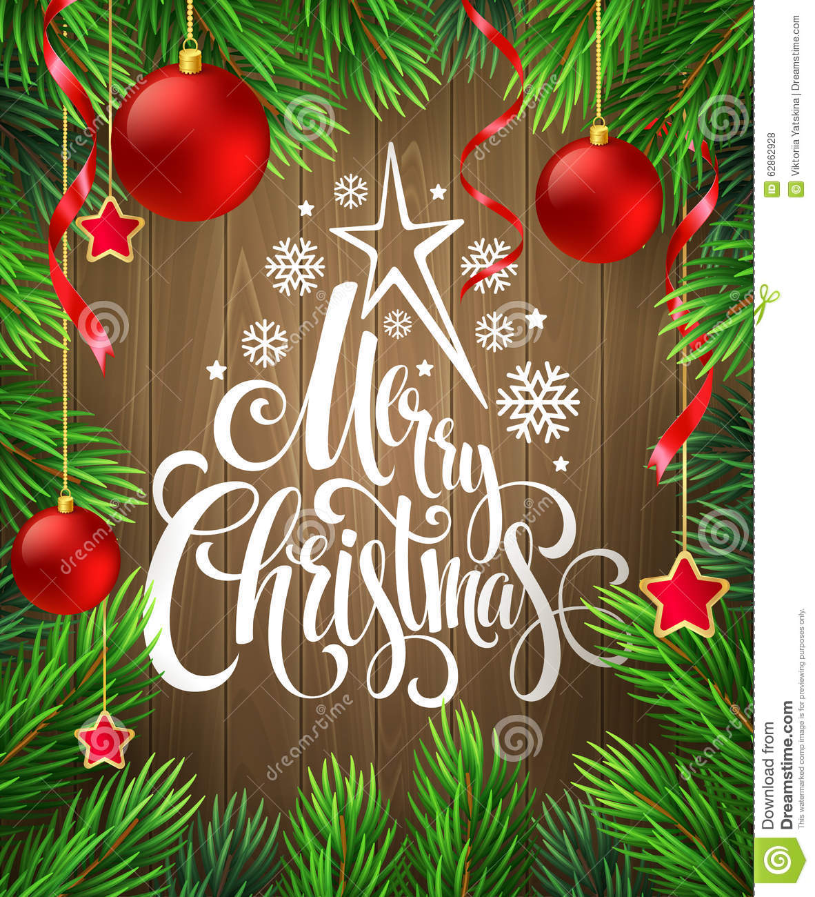 Free christmas poster design templates - Christmas Poster Design Template Vector Stock Vector Image 62862928