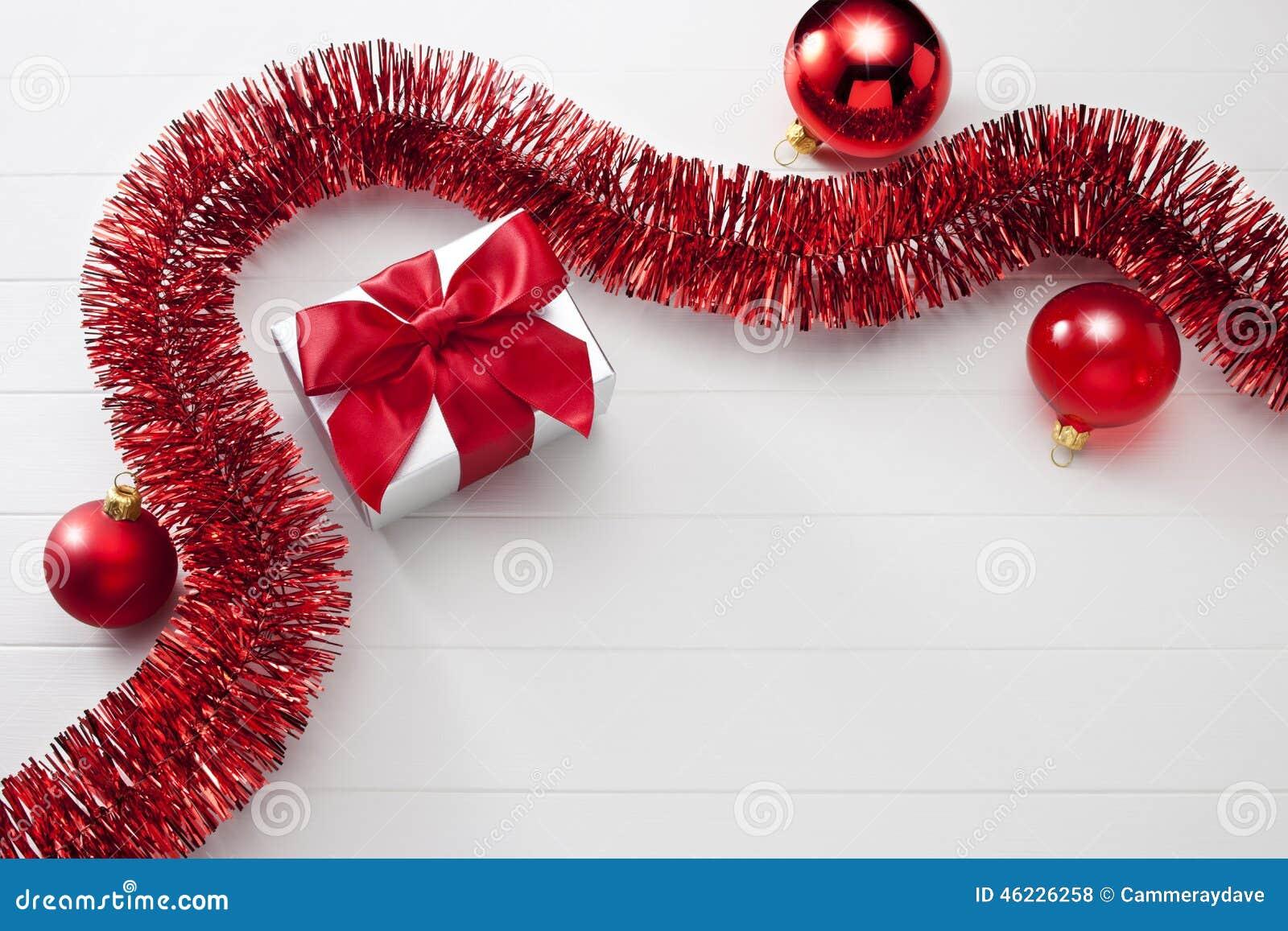 Christmas Present White Background Stock Photo - Image of christmas ...