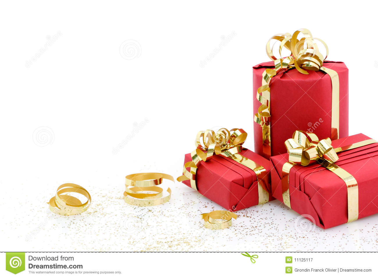 Christmas presents stock image. Image of year, packet - 11125117