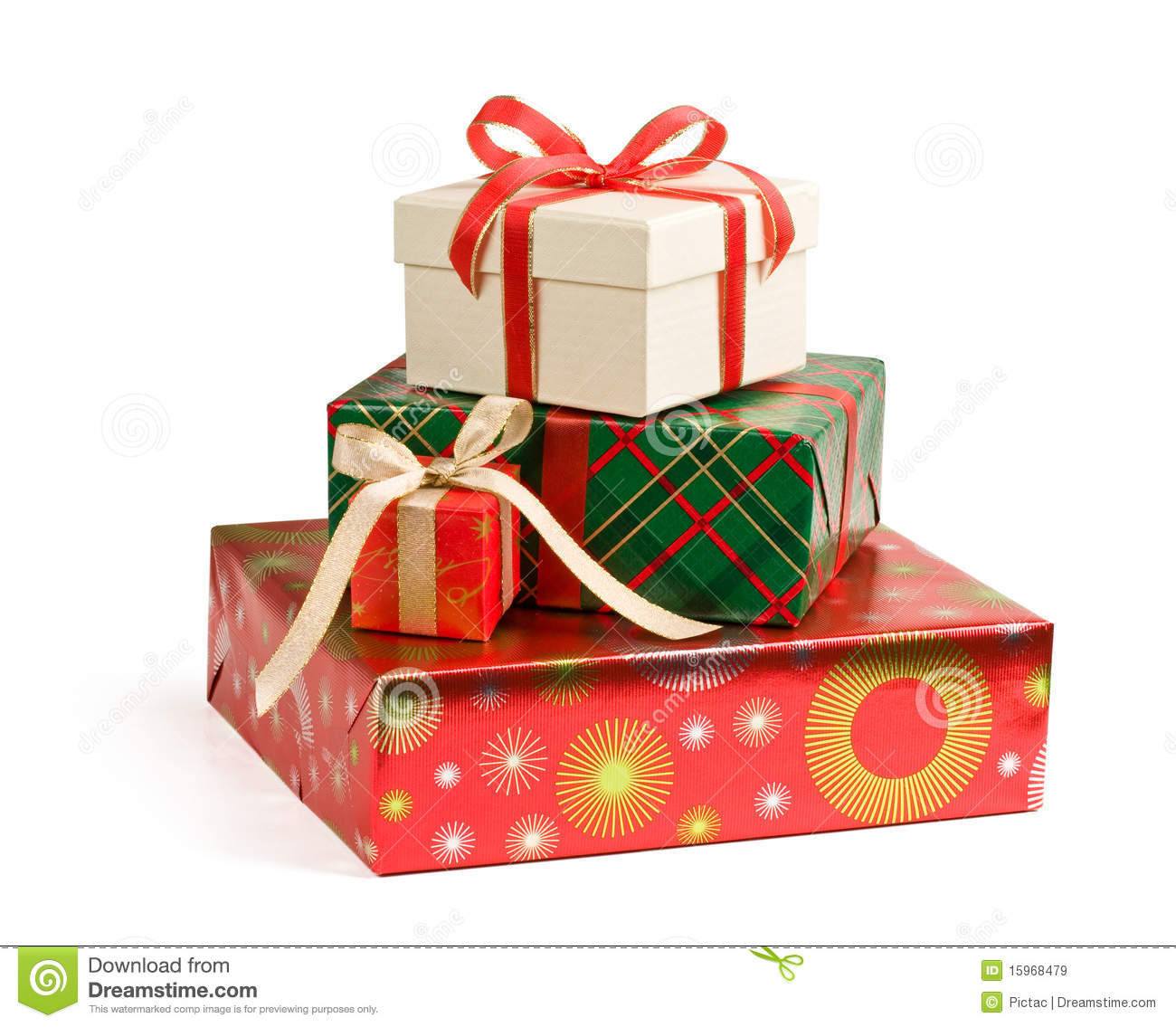 Christmas Presents Royalty Free Stock Images - Image: 15968479