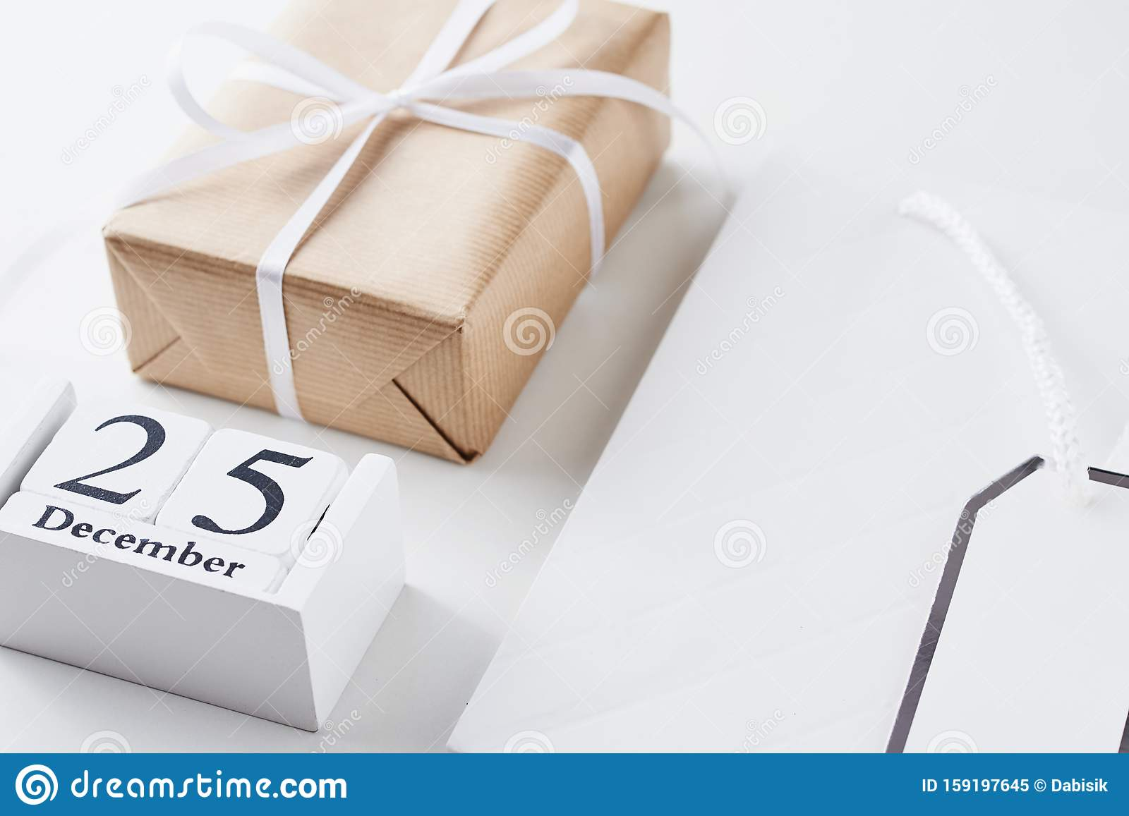 Christmas Presents For Family Or Friends Concept Stock Image