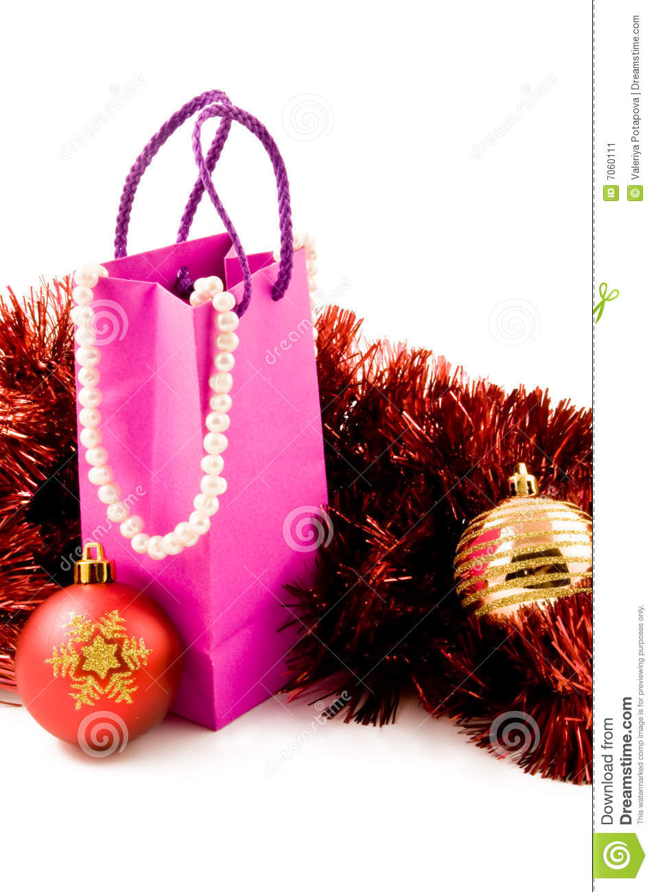 Christmas Presents Of Gifts For Woman Stock Image Image