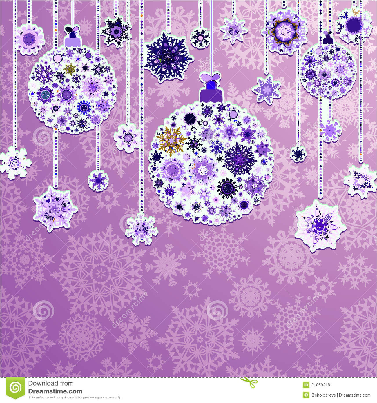 Silver And Purple Christmas Background Purple And Silver Christmas
