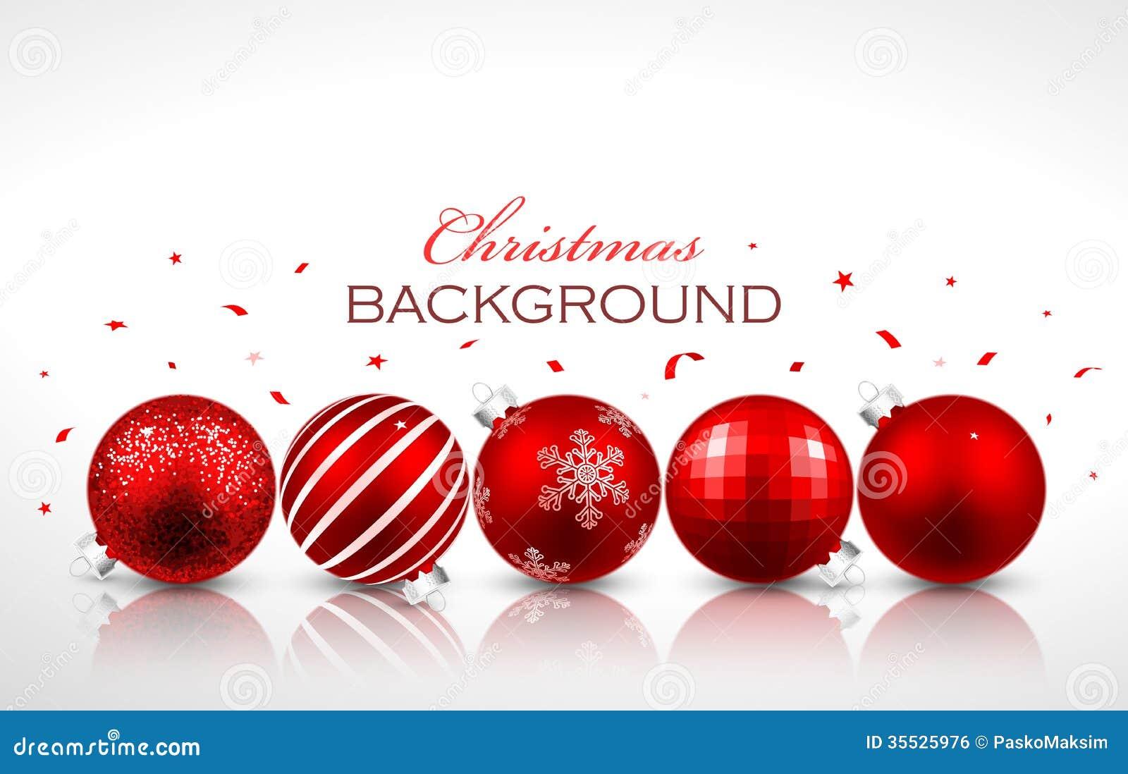 Christmas Balls Vector Illustration Cartoondealer Com