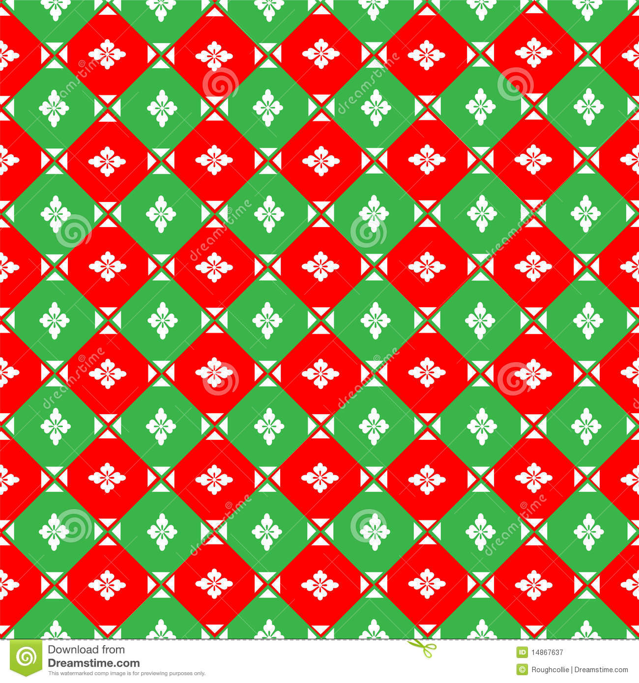 Christmas Green And Red.Christmas Red And Green Background Stock Illustration