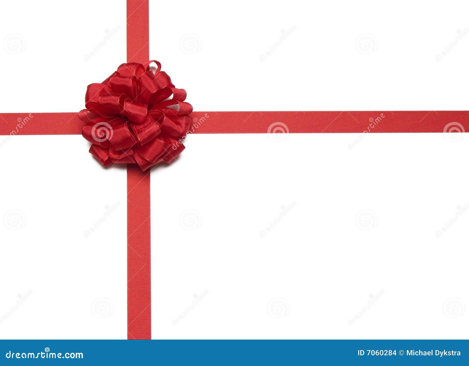 christmas red ribbon and bow stock photo image of wrap ribbon
