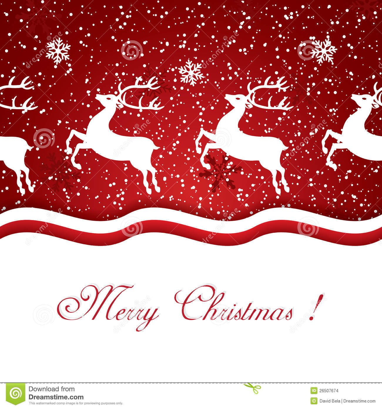 Christmas Reindeer Stock Images - Image: 26507674