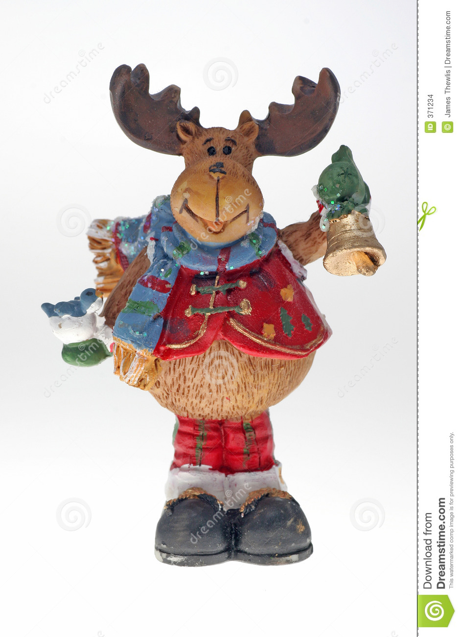 Christmas reindeer decoration stock photo image 371234 for Christmas reindeer decorations