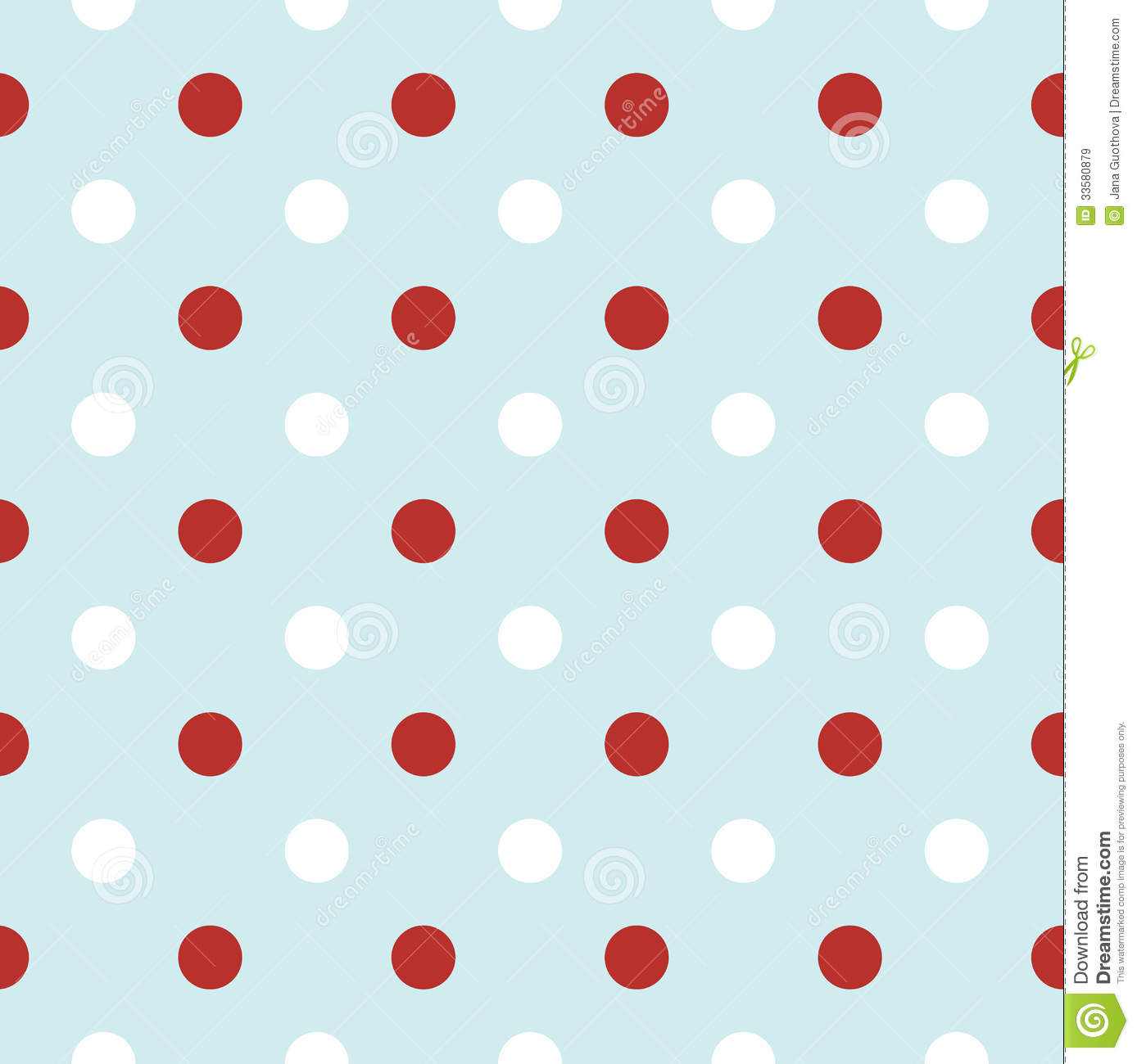 Christmas Retro Background With Polka Dots In Red Royalty Free ...