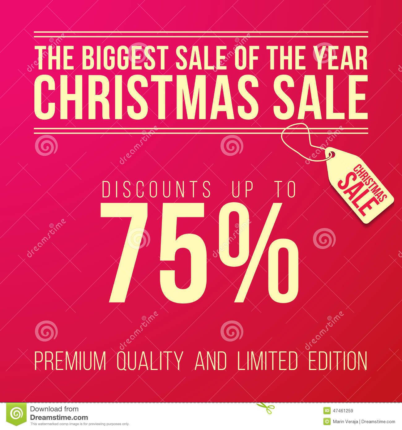 discount ad template stock photography image  christmas ad big discount designed royalty stock images