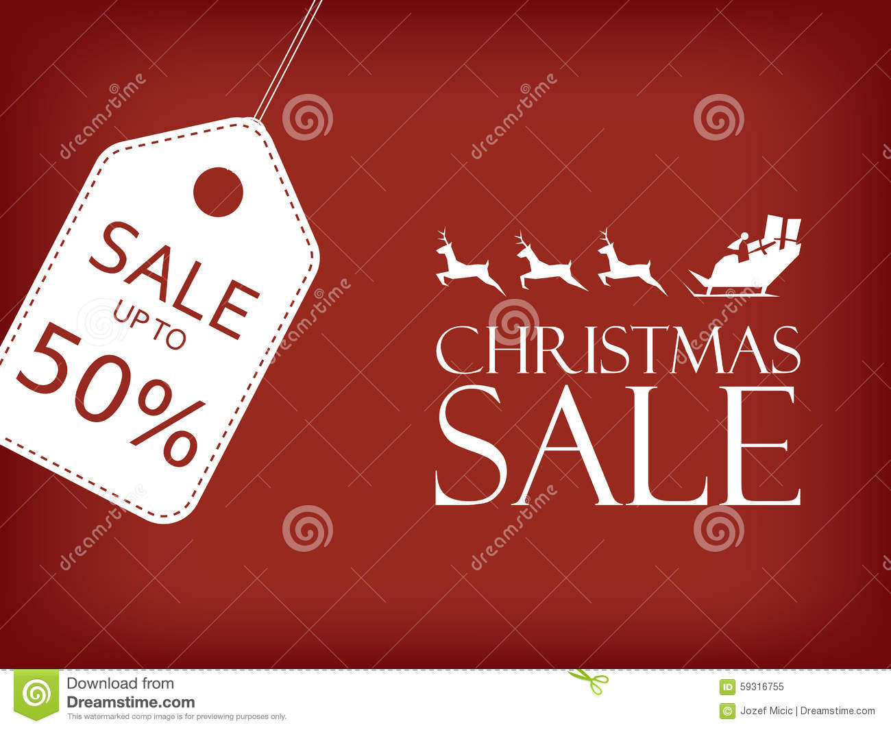 Christmas sale banner holiday sales vector background santa riding