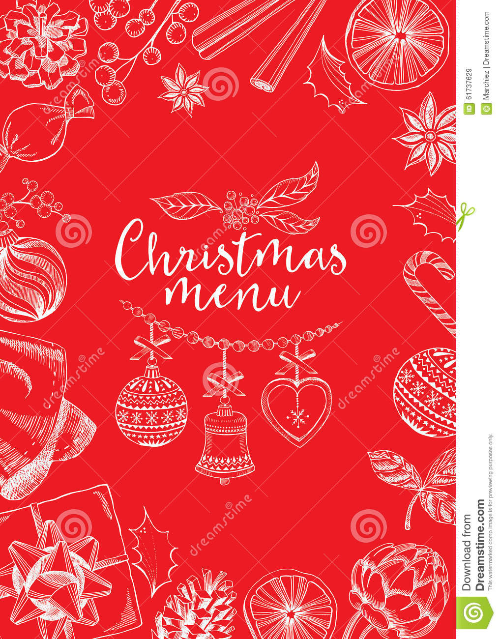 christmas invitation flyer graphic stock vector image christmas invitation flyer graphic