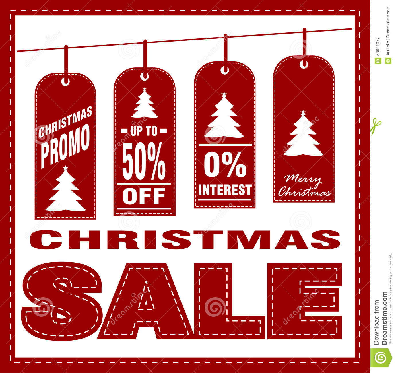 Free christmas poster design templates - Christmas Design Poster Sale Stitches Template