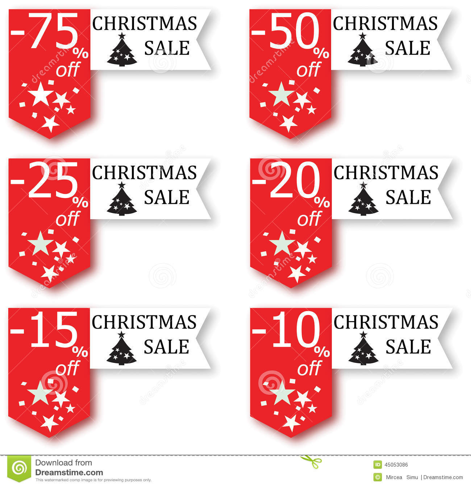 christmas sale sign stock illustration illustration of icon 45053086